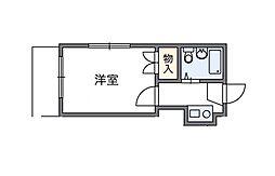成城[1階]の間取り