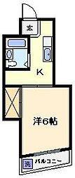 グリーンハイムおかざわ[1階]の間取り