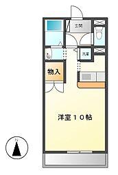 コッジィーコートFUKATA[3階]の間取り