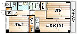 エトワールマサキ[2階]の間取り