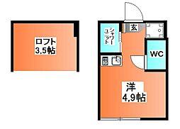 Stage神谷[2階]の間取り