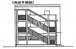 鷹匠町アパート[1-1010号室]の外観