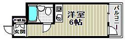 ふぁみーゆ安井[3階]の間取り