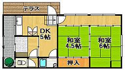 [一戸建] 兵庫県宝塚市安倉南2丁目 の賃貸【/】の間取り