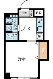 慶応マンション[0407号室]の間取り