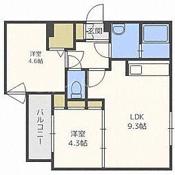 ステラ本郷I[4階]の間取り
