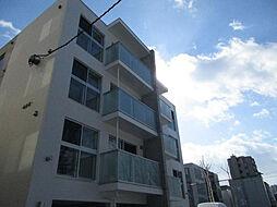 北海道札幌市中央区北十四条西15丁目の賃貸マンションの外観