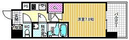 プールトゥジュール梅田ウエスト[4階]の間取り
