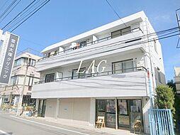 東京都大田区南雪谷4丁目の賃貸マンションの外観
