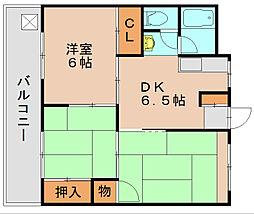 石田ビル[2階]の間取り