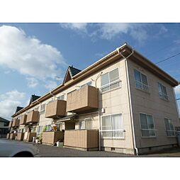 コーポ秋田C[2階]の外観