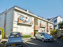 大阪府枚方市山之上1の賃貸アパートの外観