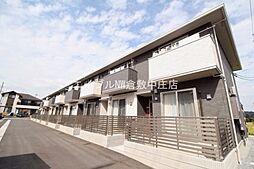 岡山県倉敷市福田町古新田丁目なしの賃貸アパートの外観