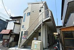 神奈川県横浜市鶴見区浜町1丁目の賃貸アパートの外観