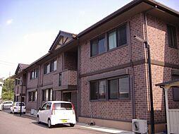 兵庫県豊岡市戸牧の賃貸アパートの外観