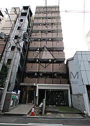 大阪府大阪市西区北堀江2-の賃貸マンションの外観