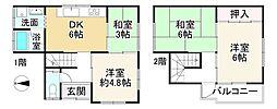 近鉄大阪線 五位堂駅 徒歩23分