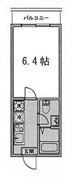 フェリシア横濱希望ヶ丘[3階]の間取り