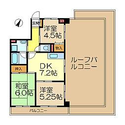 丸山台レジデンス[7階]の間取り
