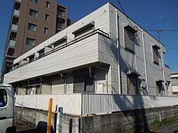 神奈川県横浜市鶴見区北寺尾4丁目の賃貸アパートの外観
