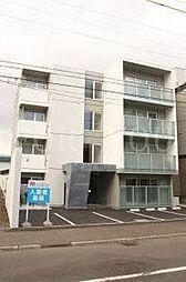 北海道札幌市中央区南四条西13の賃貸マンションの外観