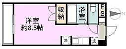 WINDOM新栄[3階]の間取り