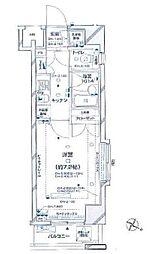 パレステュディオ新宿パークサイド(賃料下がりました)[302号室号室]の間取り