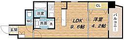 B-PROUD江戸堀[15階]の間取り