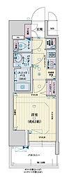 阪神なんば線 九条駅 徒歩1分の賃貸マンション 6階1Kの間取り