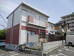大阪府豊中市桜の町6丁目の賃貸アパートの外観