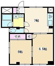 HOUSE-TM[101号室]の間取り
