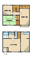 パルコート町田[1階]の間取り