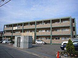 福岡県糟屋郡粕屋町戸原東2丁目の賃貸マンションの外観