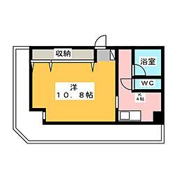 新宿マンション[3階]の間取り
