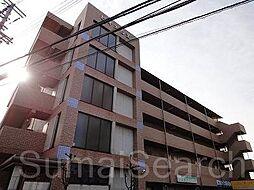 大阪府堺市東区白鷺町3丁の賃貸マンションの外観
