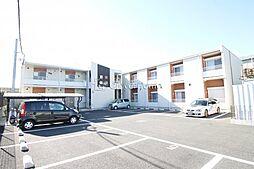 神奈川県海老名市杉久保北2丁目の賃貸アパートの外観