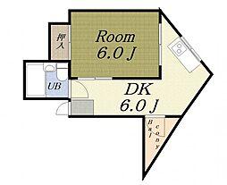 第2共栄マンション[5階]の間取り