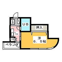 ベルデ南栄[2階]の間取り