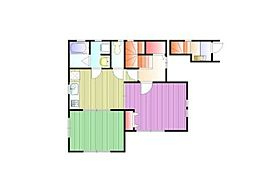 [タウンハウス] 東京都杉並区下井草2丁目 の賃貸【東京都/杉並区】の間取り