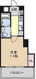 アクアプレイス京都洛南II[A801号室号室]の間取り