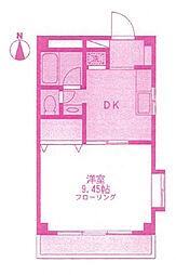 ル・コンフォール[3階]の間取り
