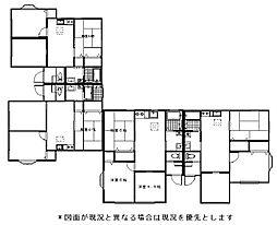 福岡県遠賀郡岡垣町松ケ台4丁目の賃貸アパートの間取り