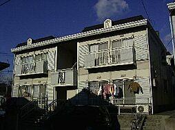 フラワーハイツ B棟[1階]の外観