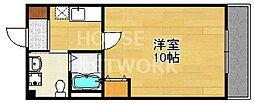 ルシェッロ ウノ[208号室号室]の間取り