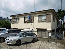 東京都福生市牛浜の賃貸アパートの外観