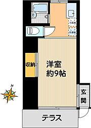 岡本ハイツ[103号室]の間取り