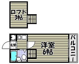 ヨーロピアン千代田[1階]の間取り