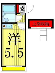 ステージY3[101号室]の間取り