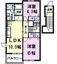 【敷金礼金0円!】メゾンプリモデイ-ネII
