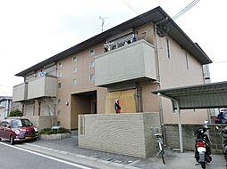 大阪府茨木市島1の賃貸アパートの外観